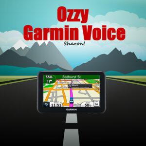 ozzy garmin voice