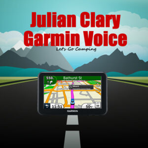 julian clary garmin voice