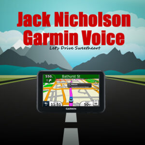 jack nicholson garmin voice