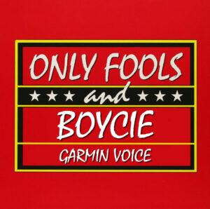 boycie garmin voice