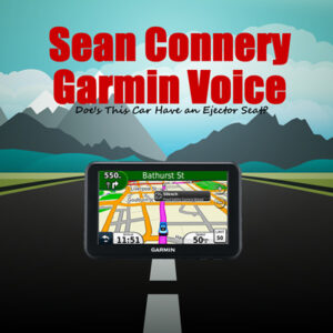 sean connery garmin voice